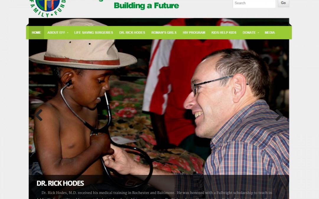 Ethiopian Family Fund Website